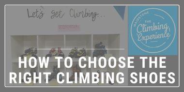 Choosing climbing shoes